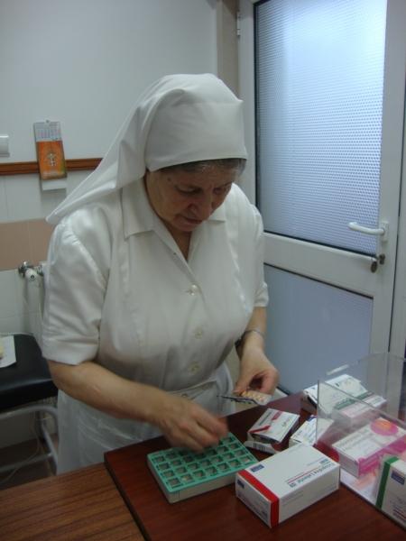 Preparação da medicação